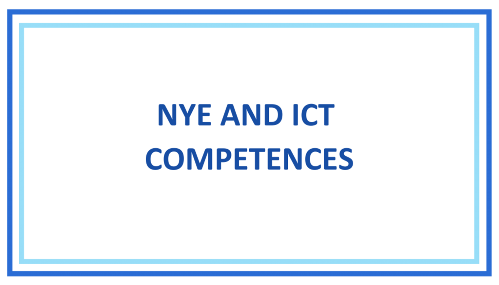 NYE AND TIC COMPETENCES